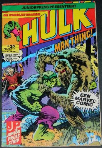 Hulk #20Belgium - 1985cover