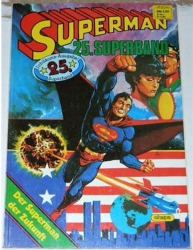 Superman #400German - pin up poster