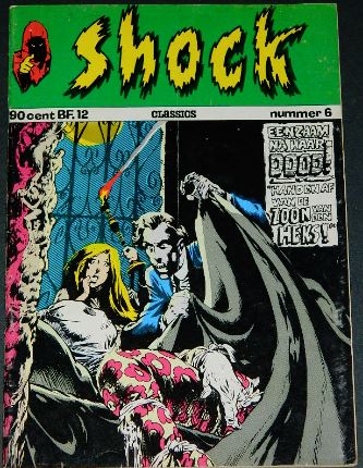 Shock #6Holland - 1973cover