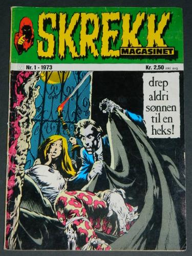 Skrekk #1Norway - 1973cover