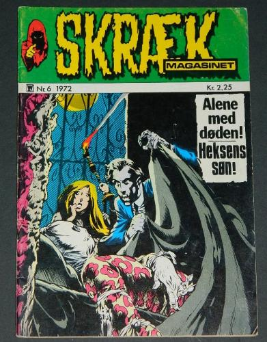 Skraek #3Denmark - 1973cover