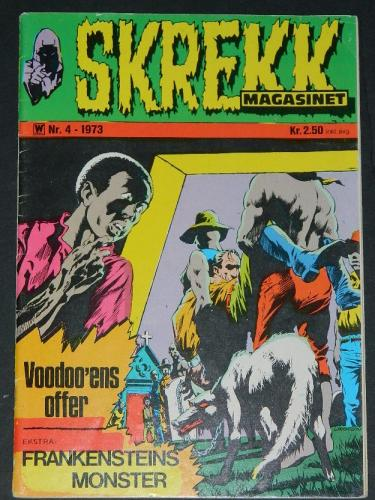 Skrekk #4Norway - 1973cover