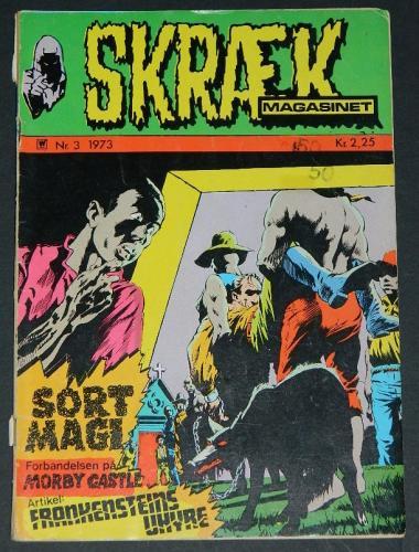 Skraek #6Denmark - 1972cover