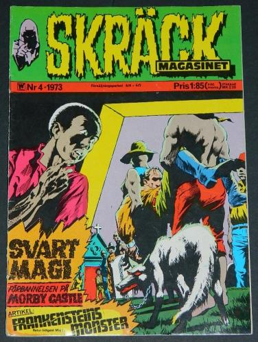 Skrack #4Sweden - 1973cover