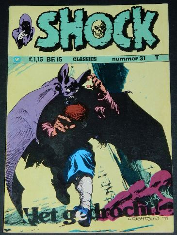 Shock #31Holland - 1974cover
