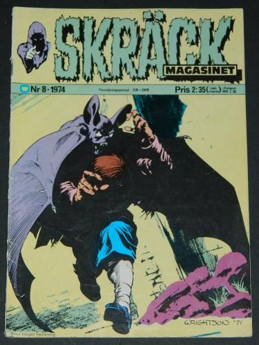 Skrack #8Sweden - 1974cover
