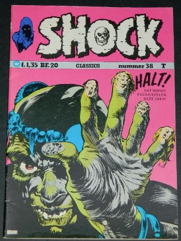 Shock #38Holland - 1975cover