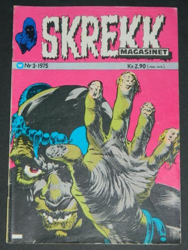 Skrekk #3Norway - 1975cover