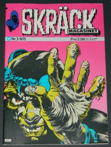 Skrack #3Sweden - 1975cover