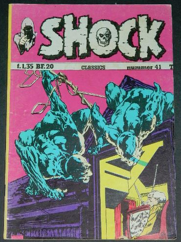 Shock #41Holland - 1975cover