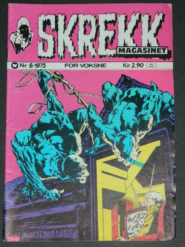 Skrekk #6Norway - 1975cover