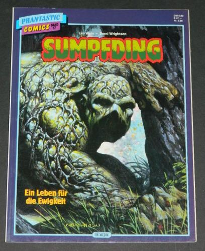 SumpfdingGerman - 1987color Swamp Thing #1 & #2