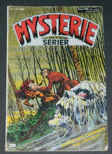 Mysterie Serier #7Sweden - 1983cover