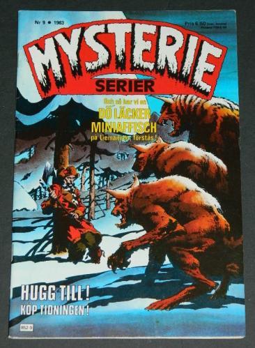 Mysterie Serier #9Sweden - 1983cover