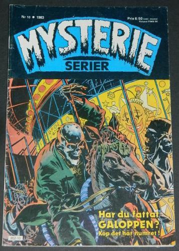 Mysterie Serier #10Sweden - 1983cover