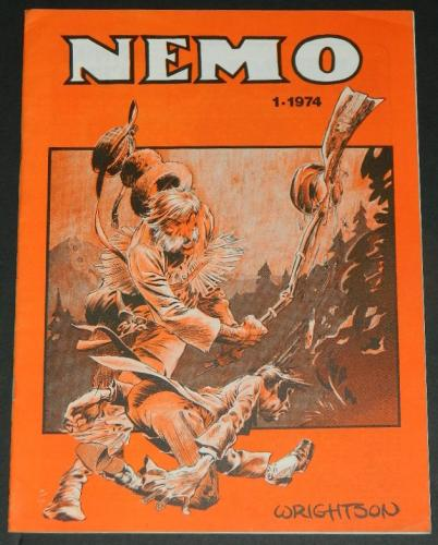 Nemo #1Dutch - 1974 cover19 pgs. of illustrations w/ H.O.S. #92 origin all in B&W