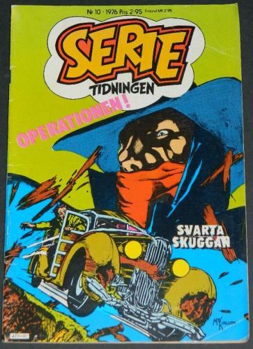 Serie Tidningen Nr10Sweden - 1976Swamp Thing #10 B&W