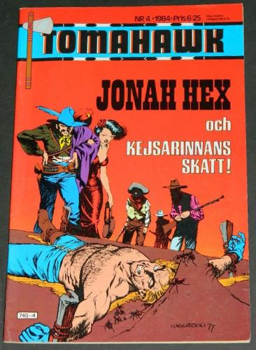 Jonah HexSweden - cover