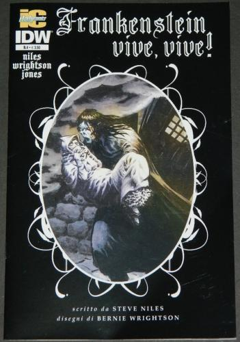 Frankenstein Alive,Alive #4Italy