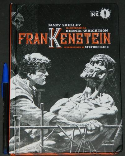 FrankensteinItaly - hardcoverOscar Ink - 2018