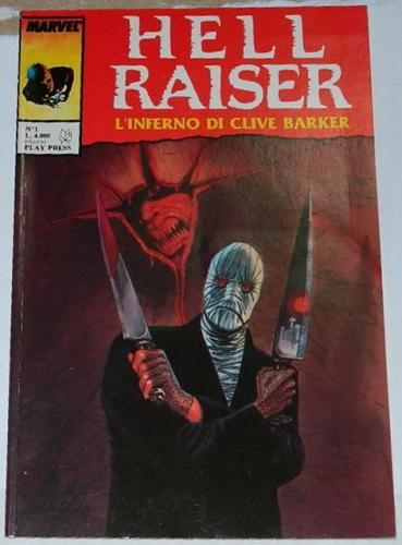 """Hell RaiserItaly - Graphic Novel""""The Warm Red"""""""