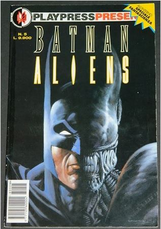Batman AliensItaly - Graphic Novel