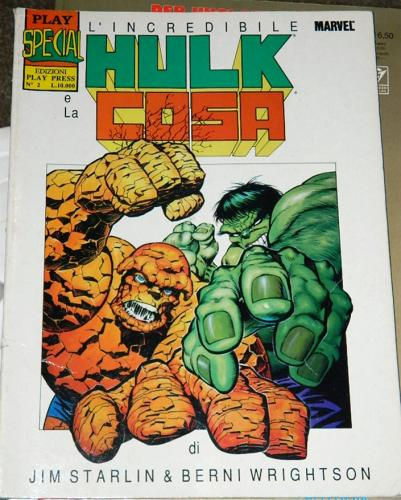 Hulk & ThingItaly - Graphic Novel