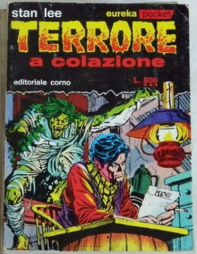 "Terrore a colazioneEureka #14 1973Italy - Pocket book""Gargoyle Every Night"""