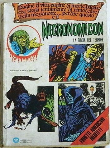 """Necronomicon / I Pocket del Terrore #42Italy - Pocket BookH.O.M. #213 cover, """"Things Old, Things Forgotten"""" B&W"""