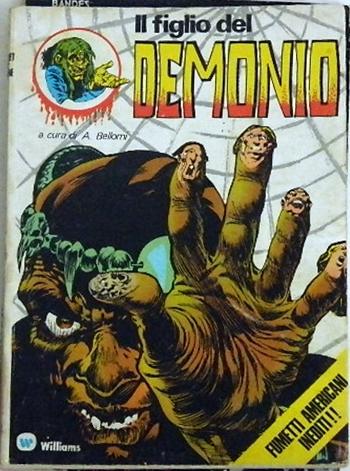 Il figlio del Demonio / I Pocket del Terrore #5 - 1974Italy - pocket bookcover