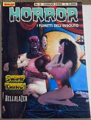 Horror #2Italy - Swamp Thing #2
