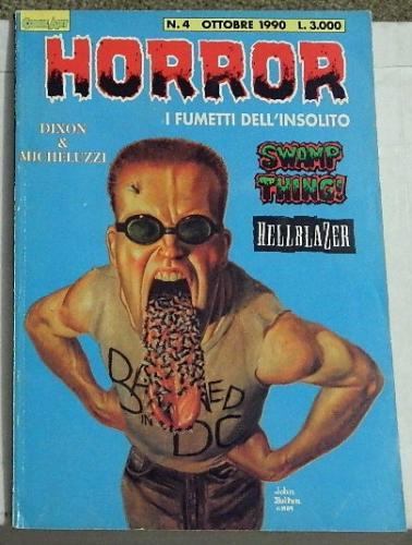 Horror #4Italy - Swamp Thing #3