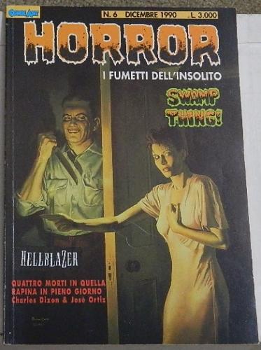 Horror #6Italy - Swamp Thing #4