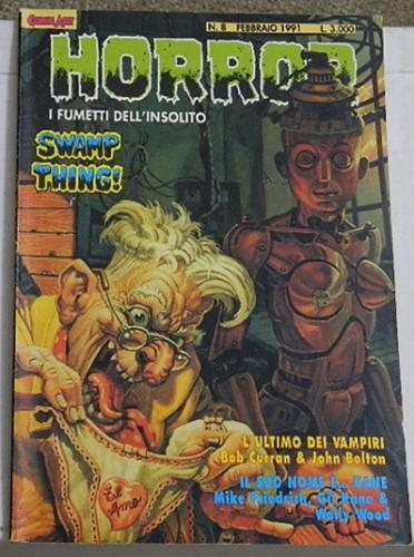 Horror #8Italy - Swamp Thing #5