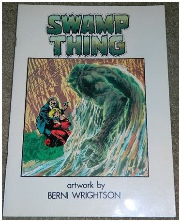 Swamp ThingItaly - 1980H.O.S. #92 and Swamp Thing #1 B&W
