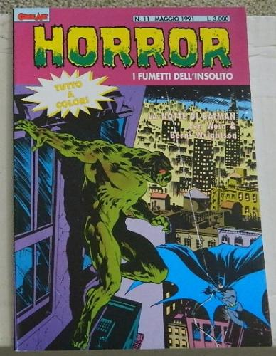 Horror #11Italy - cover, Swamp Thing #7