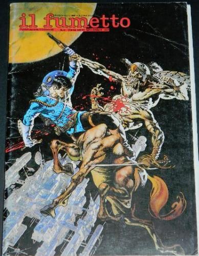 Il Fumetto #21Italy - Dec. 1989cover