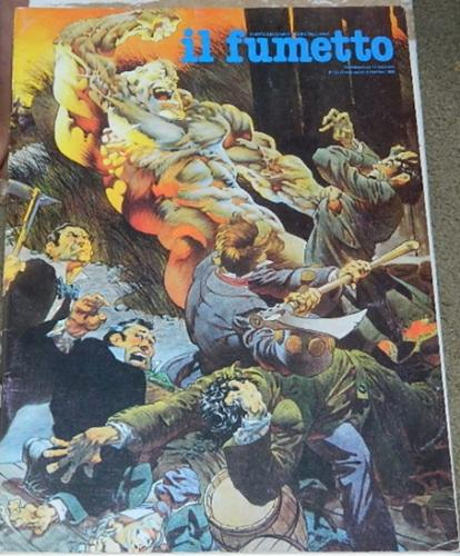 Il Fumetto #25Italy - Dec. 1990cover