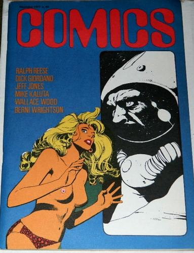 "Comics #44Italy - Nov. 1977""Breathless"""