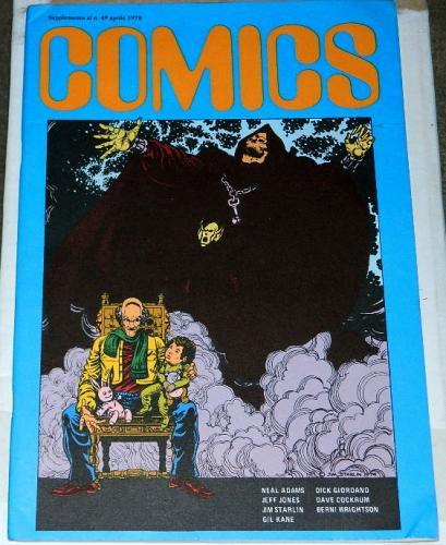 "Comics #49Italy - Apr. 1978""Out on a Limb"""