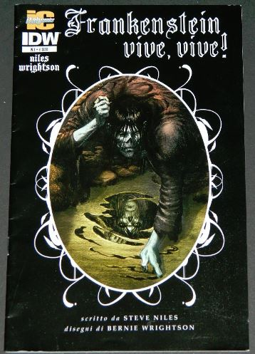 Frankenstein Alive,Alive #1Italy - 11/2012