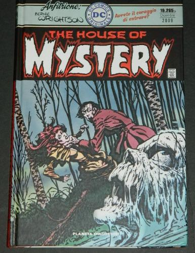 House of MysteryItaly - hard cover 2009stories, covers and frontis from H.O.M