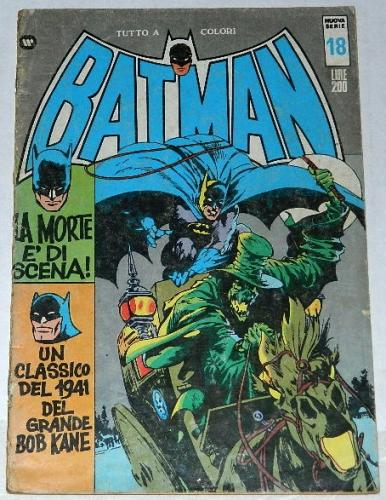 Batman #18Italy - Oct 1973