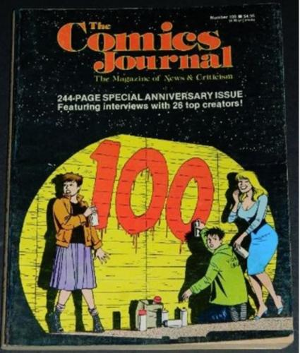 The Comics Journal #1007/85 Interview