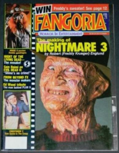 "Fangoria #641987 ""My Demon Artist"""
