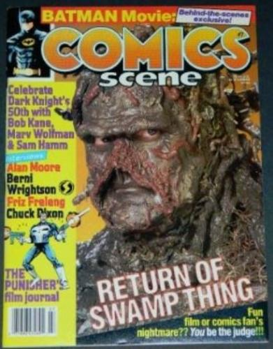 Comics Scene #71989 2pg. Swamp Thing interview