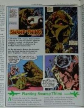 Comics Scene #72pg. Swamp Thing interview