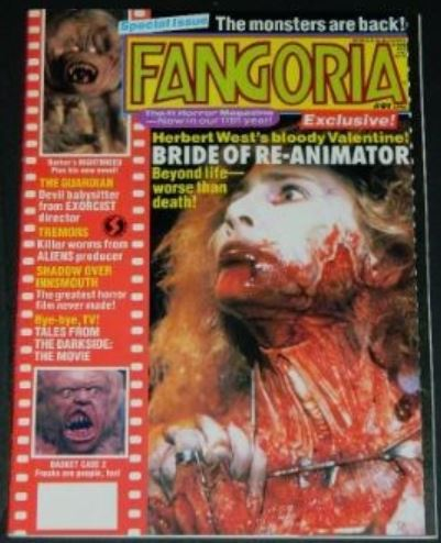 "Fangoria #915/99 - 5pgs. on ""Shadow Over Innsmouth"""