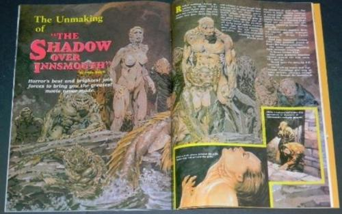 "Fangoria #91""Shadow Over Innsmouth"""