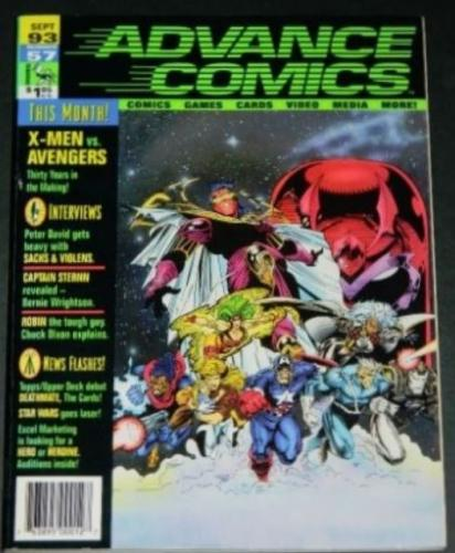 Advance Comics #579/93 Captain Sternn Revealed